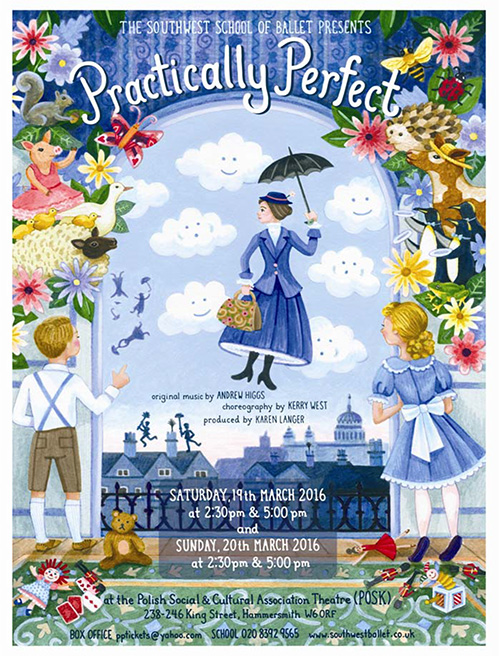 Practically Perfect by Southwest School of Ballet 2016
